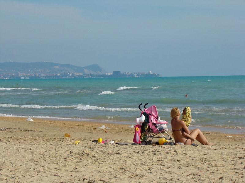 Фото пляжей Витязево