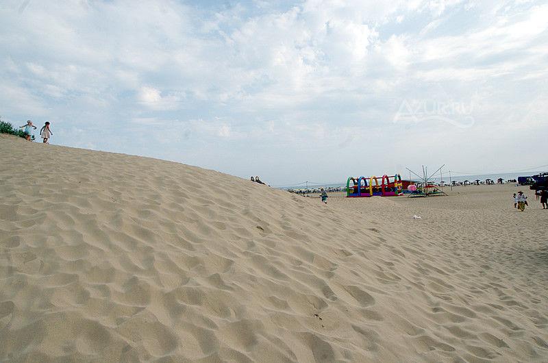 На пляже Дюна Витязево