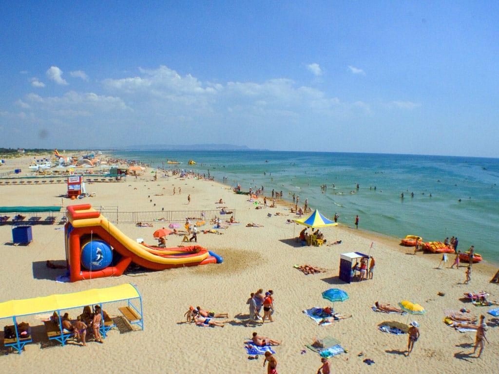 Витязево - море и пляж