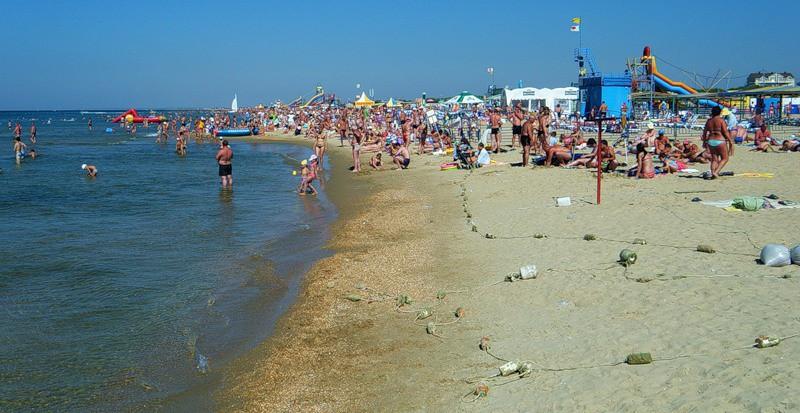 Пляж Центральный Витязево