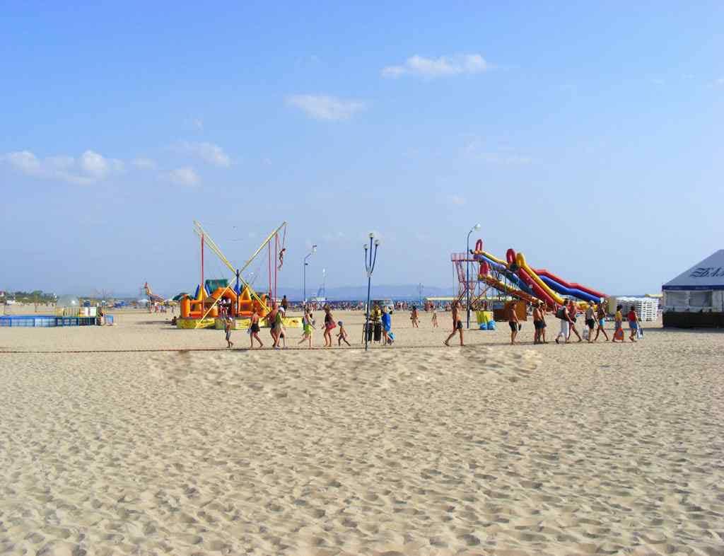 Лучший пляж в Витязево