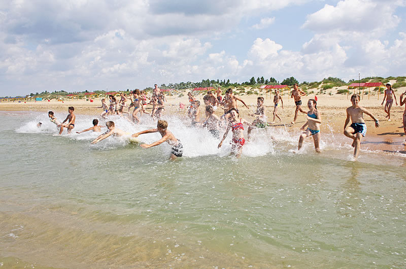 Пляж санатория Жемчужина России в Витязево