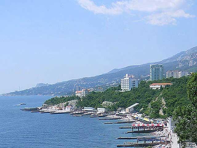 Пляж Ясная Поляна