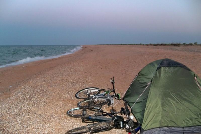 Пляж Арбатская Стрелка