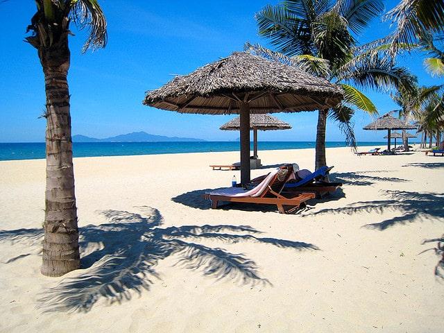 Красивый пляж Вьетнама