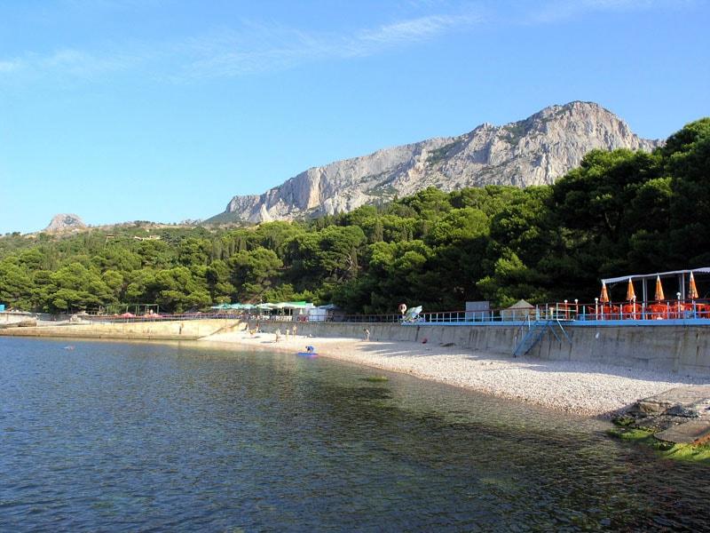 Городской пляж Фороса