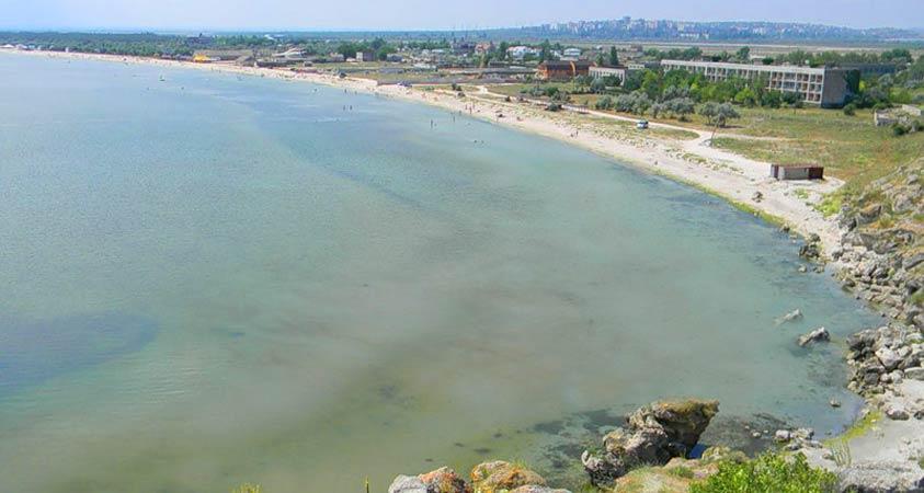 Пляж села Мысовое