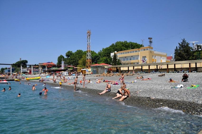 пляжи хосты отзывы и фото