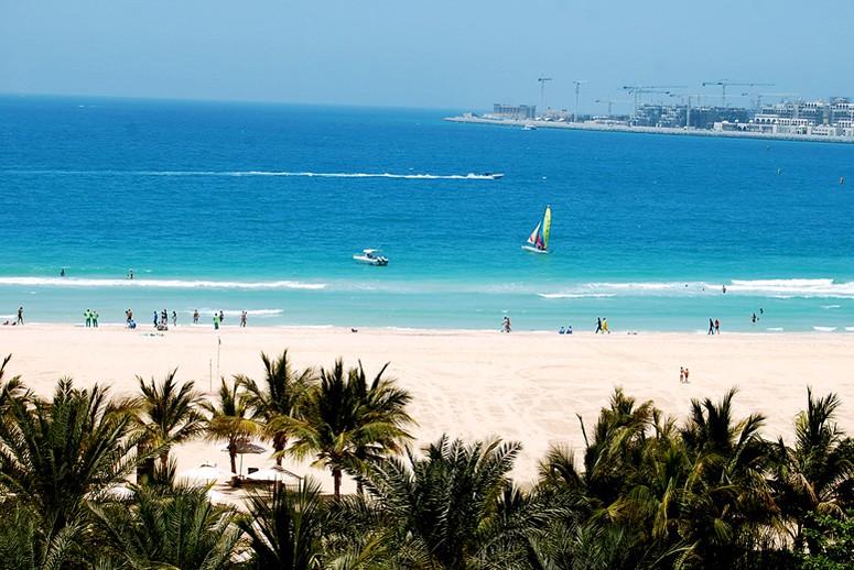 Отдых на пляжах ОАЭ