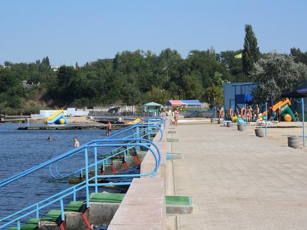 Пляж санатория Киев
