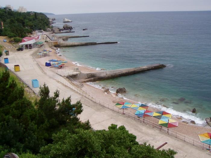 Пляж пансионата Терлецкого