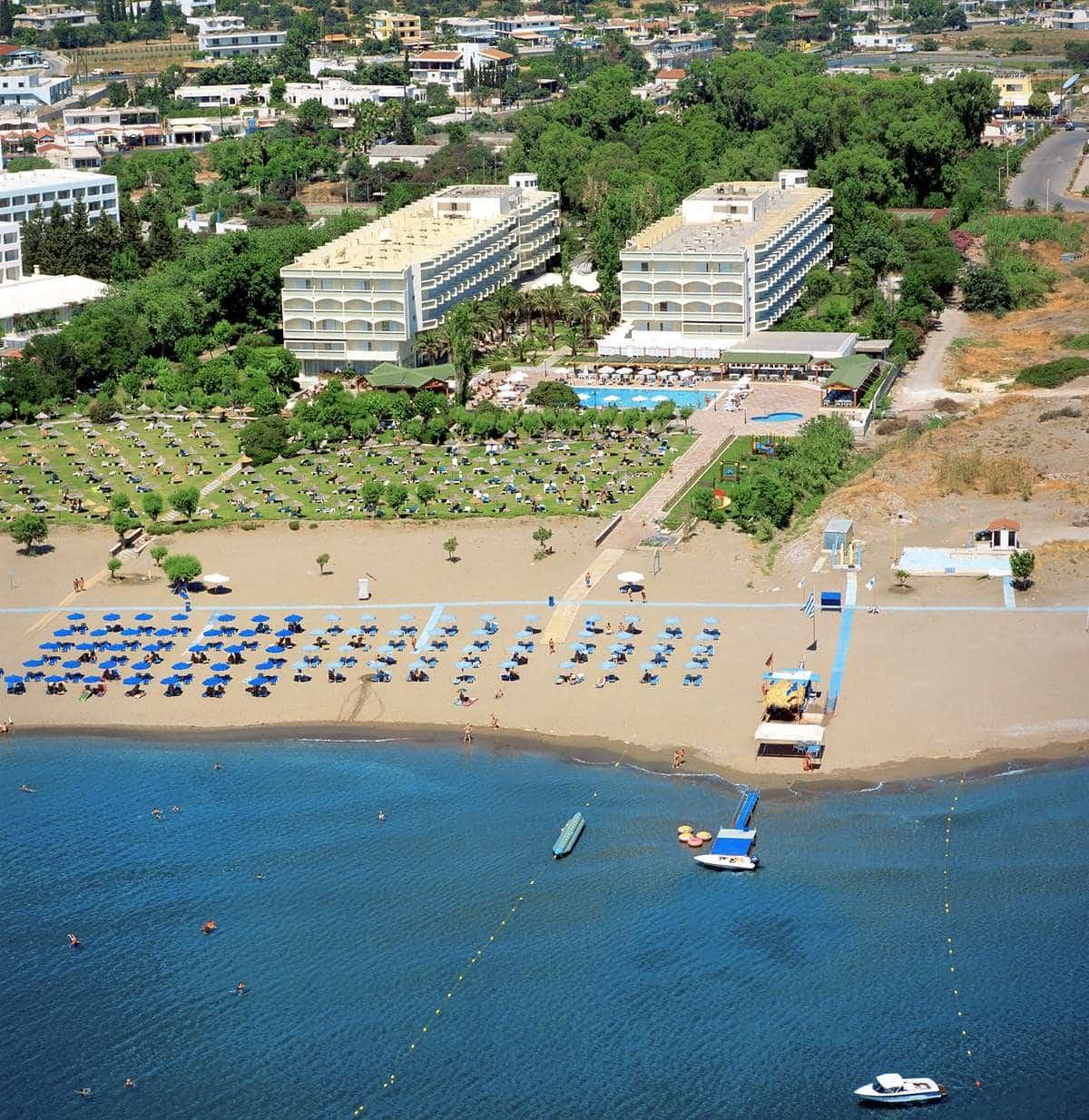 Пляж отеля Appolo Beach