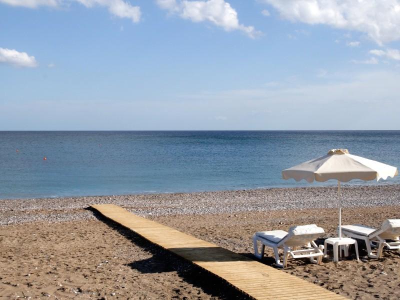 Пляж отеля La Marquise Luxury Resort