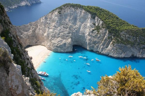Греция в июле и августе