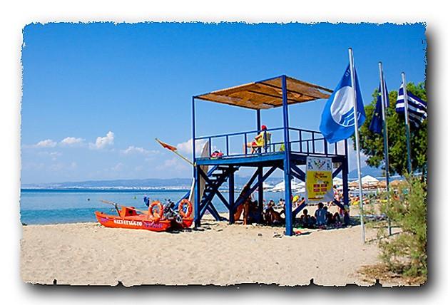Голубой флаг в Греции