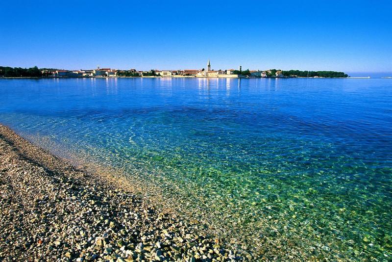 Галечные пляжи Хорватии
