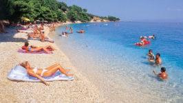 Отдых на пляжах в Хорватии