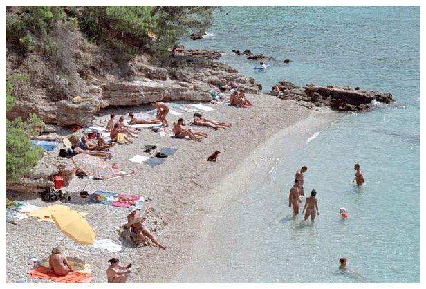 Нудисткие пляжи в Хорватии