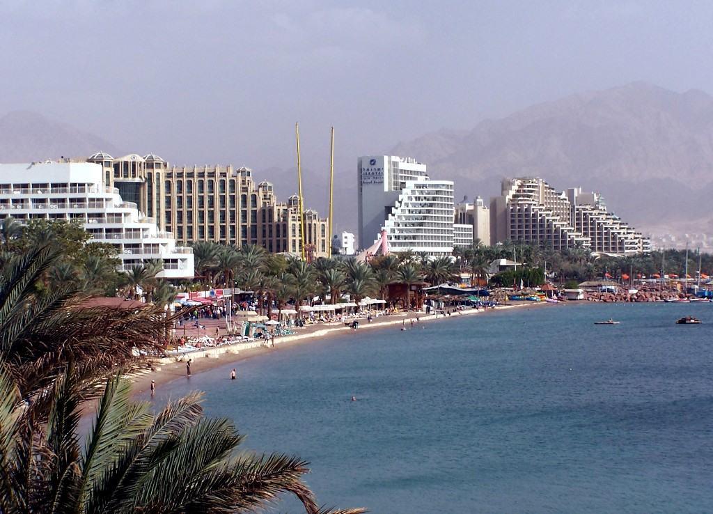 Пляжный отдых в городе Эйлат