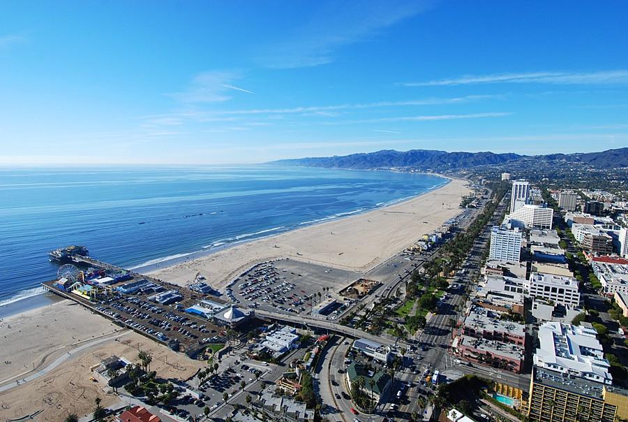 Пляжный отдых в Лос-Анджедлесе