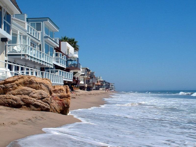 правда, что лос анджелес фото пляж теплое