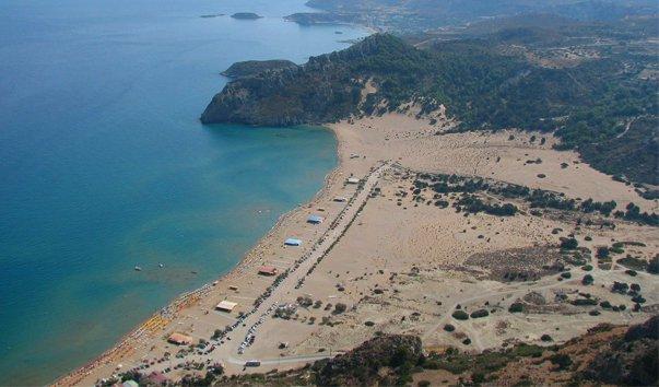 Муниципальные пляжи на Родосе