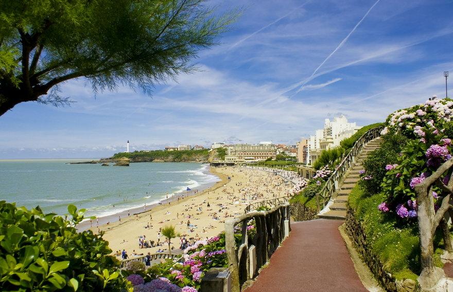 Особенности пляжного отдыха во Франции