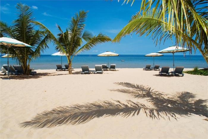 Один из пляжей Вьетнама