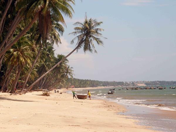 Пляж Срельнего Вьетнама