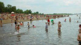 Пляж в Ростове на Дону