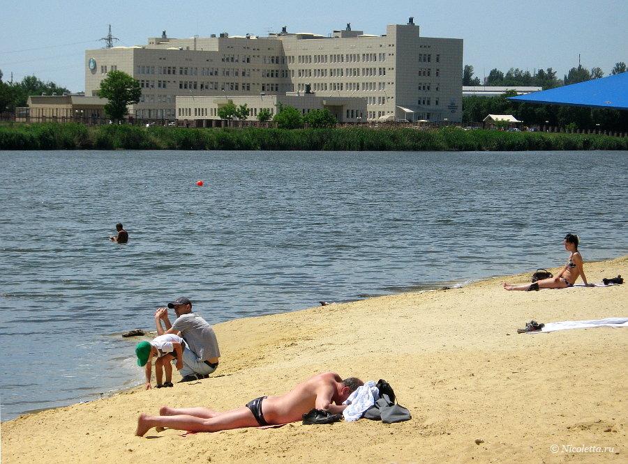 Пляж Дружба в Ростове