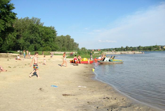 Городской пляж Ростова