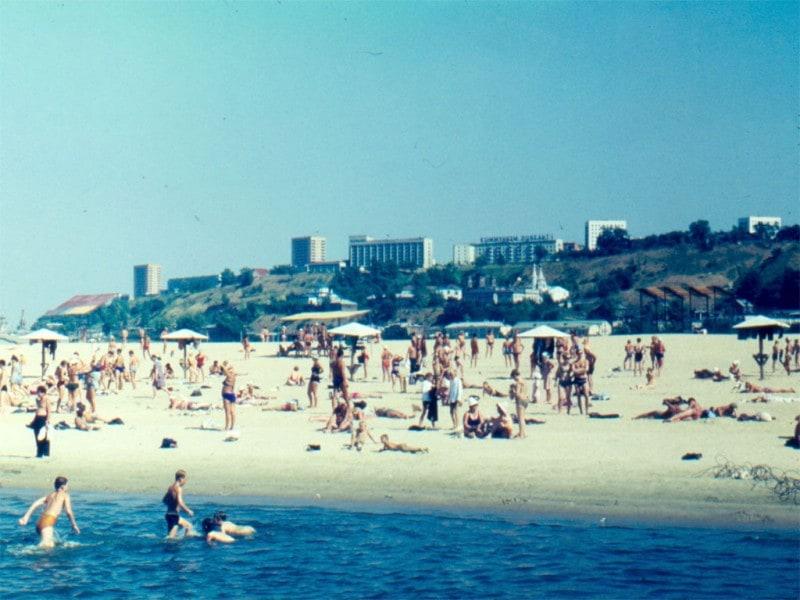 Пляжный отдых в Ростове