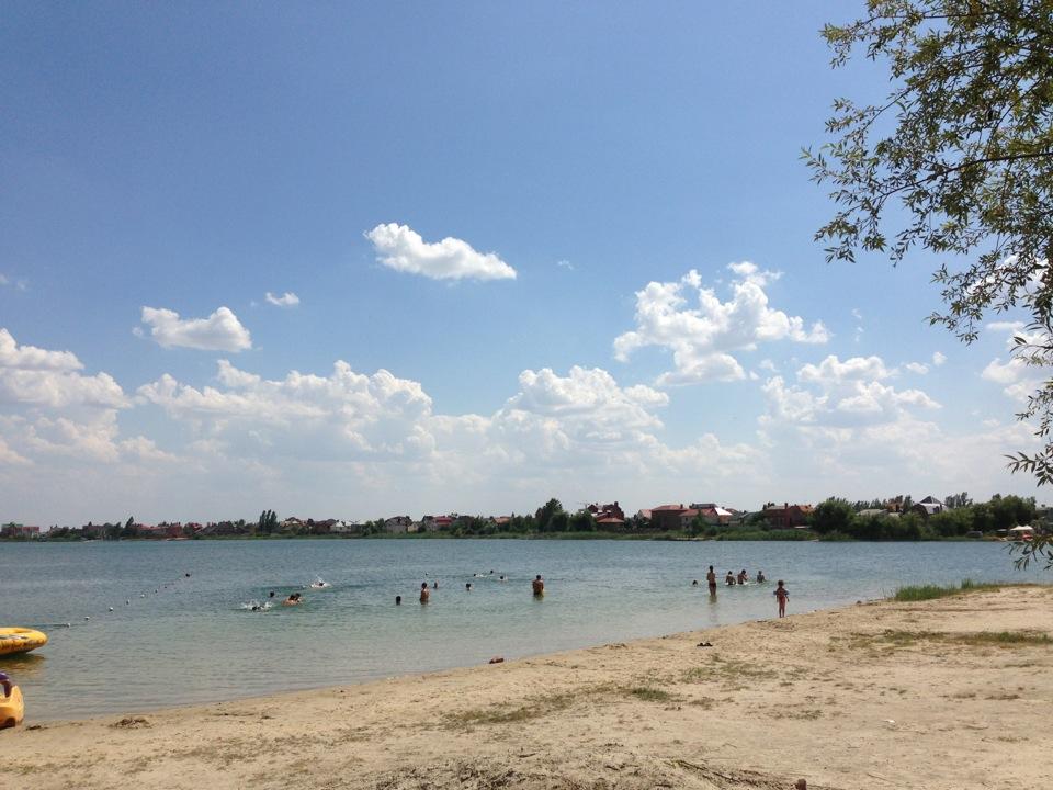 Соленое озеро в Ростове