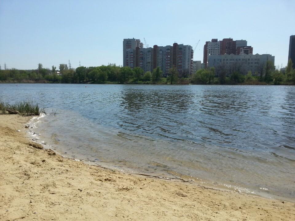 Западный пляж в Ростове