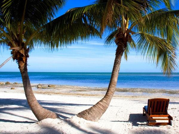 Пляж Флорида Кийз
