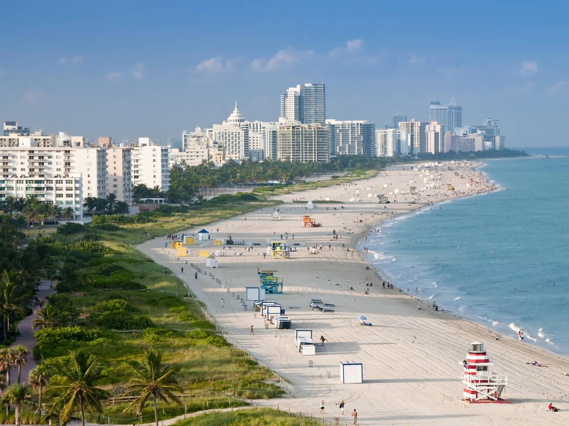 Пляж Майями