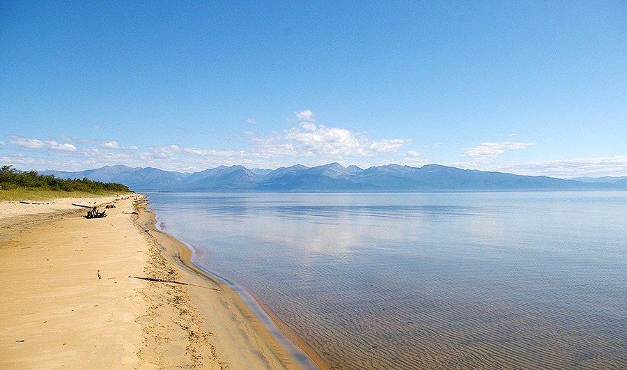 Пляж Мягкая Карга