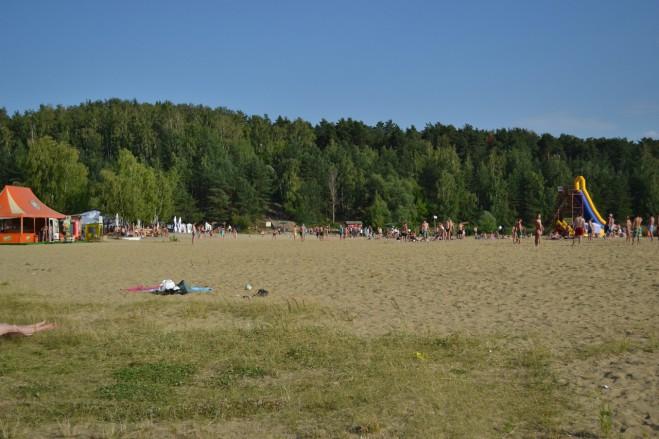 Пляж Карьер в Лыткарино