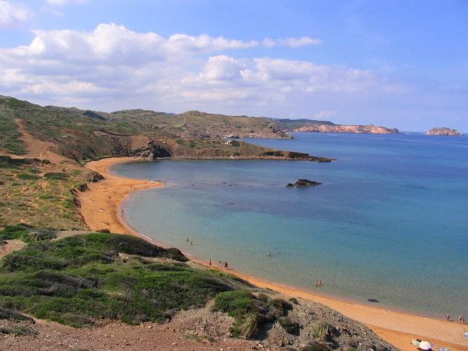 Пляж Менорка