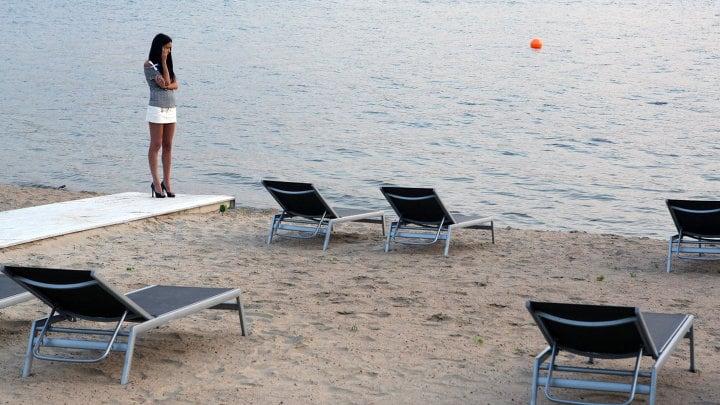 Пляж в Химках