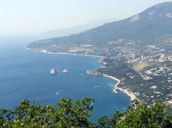 Пляжи Артека