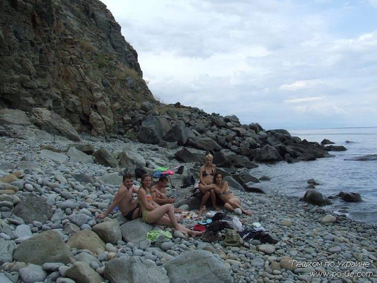 Пляж у Аю Дага