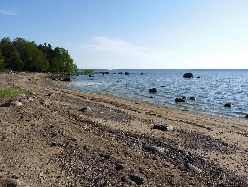 Пляжи Выборга