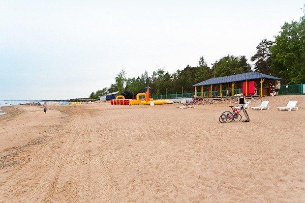 Пляж High Drive