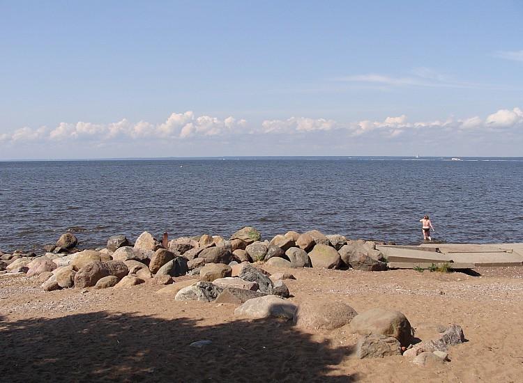 Пляж Сестрорецка