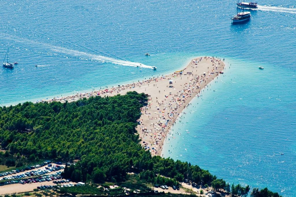 Пляжи из гальки Хорватии