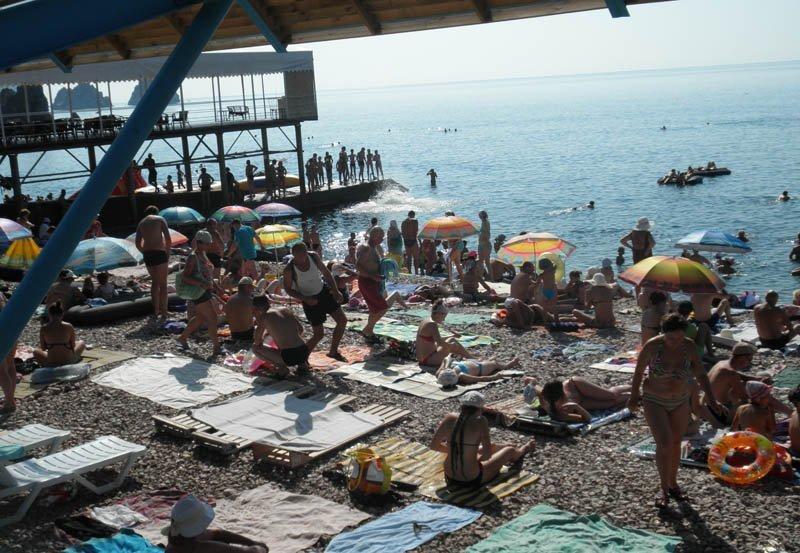 Пляж Комета