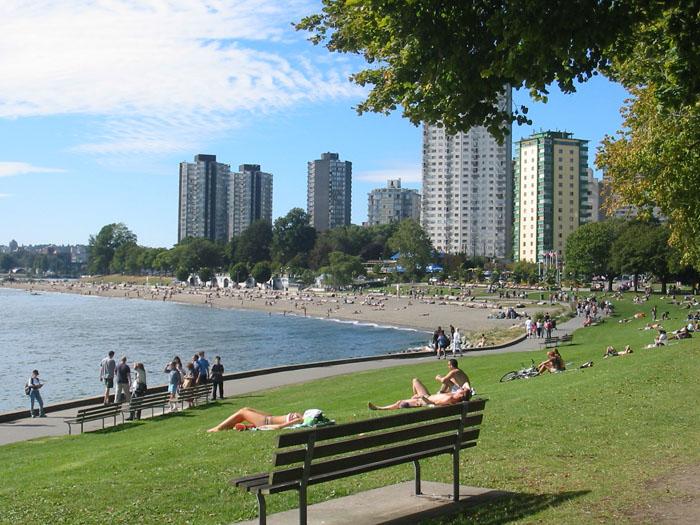 Пляж Ванкувера
