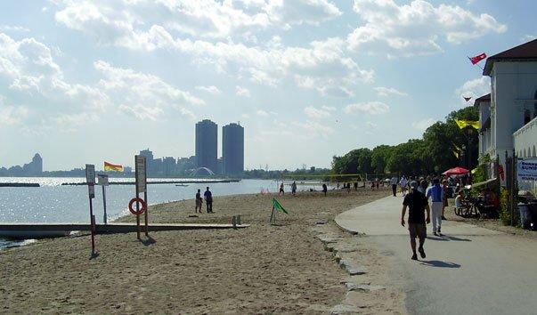 Пляжи Торонто